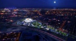 Al Thumama stadium rendering