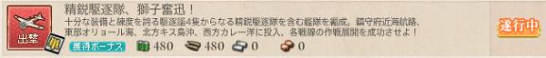 精鋭駆逐隊、獅子奮迅!