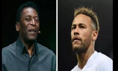 Neymar s'en prend à Pelé « Je n'approuve pas ses critiques »