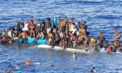 Immigration, Des Passagers , Canot Pneumatique ,portés Disparus