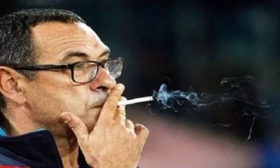Juventus, Je Fume ,60 ,cigarettes ,par Jour, Dixit ,maurizio Sarri