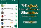 Liens Groupes Whatsapp