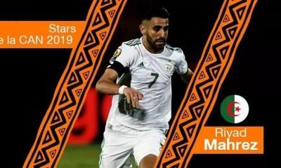 Stars De La Can 2019 Riyad Mahrez Algérie