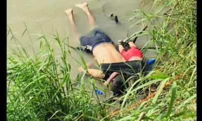 Un Père Et Sa Fille ,se Noient, Tentant De Gagner, Etats Unis,l'image Qui Choque,amérique