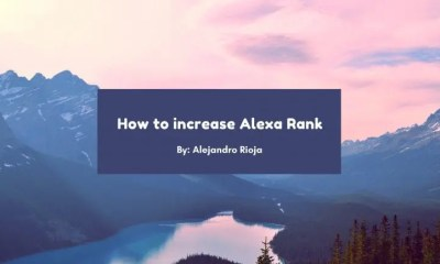 Comment Augmenter , Alexa Ranking , 2019 ,rapidement