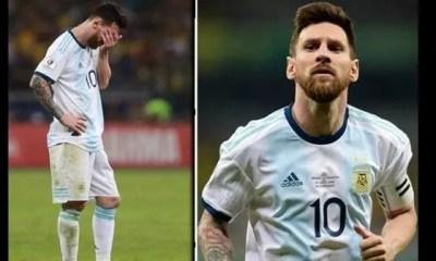 Copa America ,lionel Messi, Se Prononce , Son Avenir , Défaite Face , Brésil