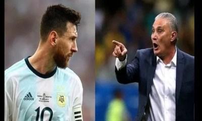 Copa America , L'entraîneur Brésilien ,s'en Prend , Lionel Messi , Plus De Respect
