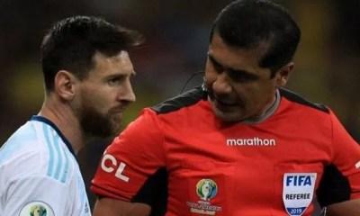 Copa America,brésil Argentine, L'arbitre, Répond, Lionel Messi