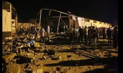 Libye, Au Moins, 40, Migrants ,tués , Frappe Aérienne , Centre De Détention,vidéo