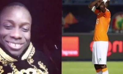 Sidiki Diabaté ,honore L'équipe ,ivoirienne, Côte D'ivoire
