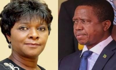 Zambie, Le Président Limoge , Ministre Des Finances, Margaret Mwanakatwe