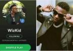 Le Chanteur ,nigérian ,wizkid ,,fait Tomber , Nouveau, Record Musical