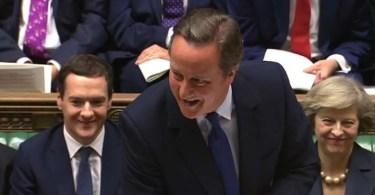 Pru Afp David Cameron Lors De Sa Dernière Séance Au Parlement Britannique