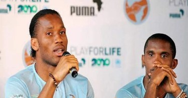Retraite International, Samuel Eto'o ,le Message , Didier Drogba