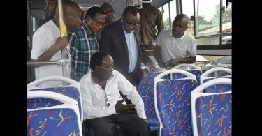 Rwanda ,met En Circulation ,bus Adaptés ,handicapés