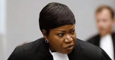 La procureure Fatou Bensouda est en mission au Mali