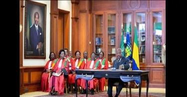 GabonAli Bongo tenterait il de positionnerfils aîné successeurphoto - Gabon : Ali Bongo tenterait-il de positionner son fils aîné comme successeur? (photo)