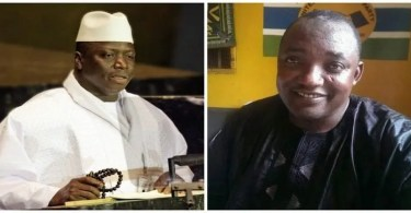Gambie Adama Barrow prêt à accueillir Yahya Jammeh conditions