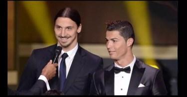 """Ibrahimovic tacle Cristiano RonaldoLe vrai Ronaldo c'est le Brésilien - Ibrahimovic tacle Cristiano Ronaldo: """"Le vrai Ronaldo, c'est le Brésilien"""""""
