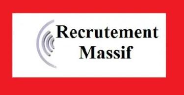 Recrutement massifs