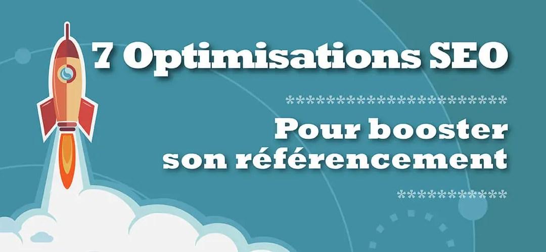 7 optimisations SEO pour améliorer le référencement naturel d'une page