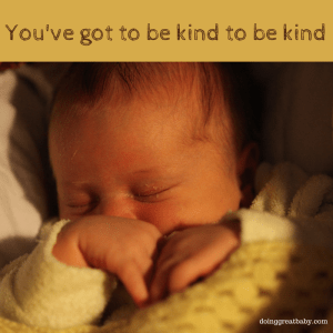 You've got to be kind to be kind