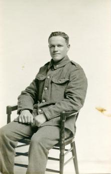 An Australian soldier of the First World War