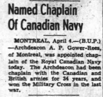 Ottawa Journal, 04 Apr 1941. Source: Newspapers.com