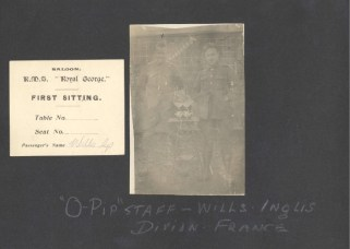 Archie Wills Photograph Album, image 88. Source: Victoria to Vimy Exhibit UVic Library Special Collections