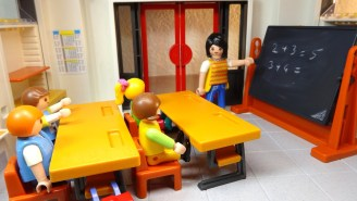 School Teacher Children Classroom Playmobil