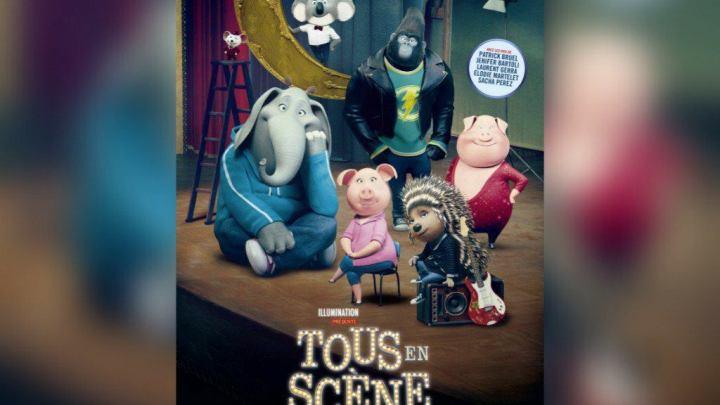 TOUS EN SCÈNE (Animation / Famille / Comédie musicale – Bien)