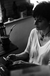 Eliane Brum. Foto de Martin Carone dos Santos. Crédito obrigatório.