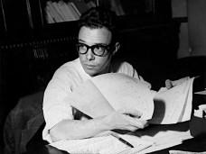 Wilson Figueiredo na Redação do Jornal do Brasil no final da década de 1950.