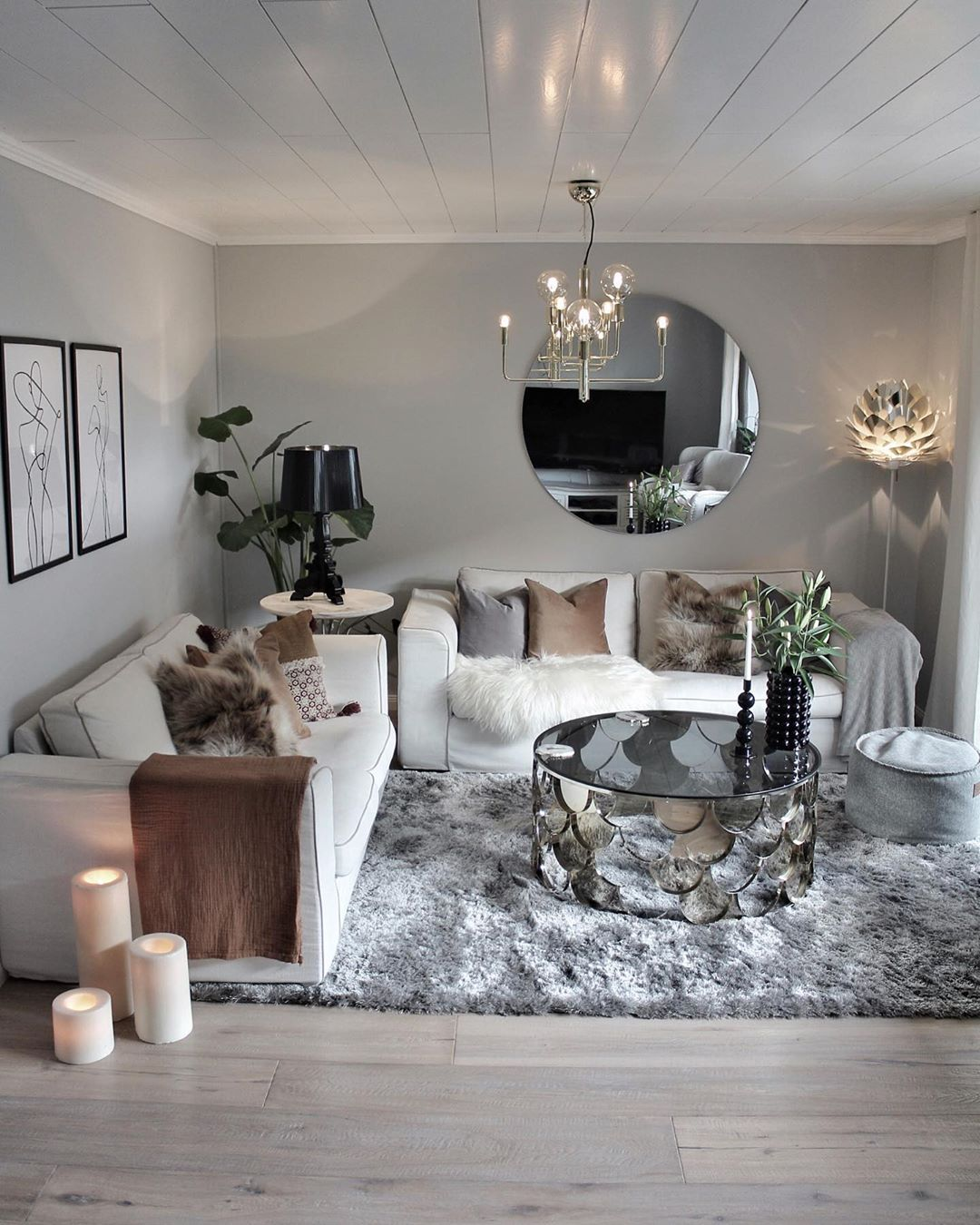 50 Lovely Living Room Design Ideas for 2020 - Do It Before Me on Small Living Room Decor Ideas  id=76808