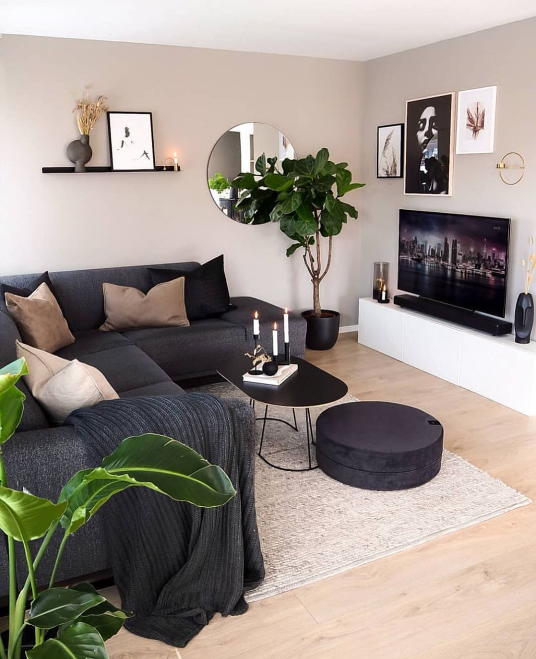 50 Lovely Living Room Design Ideas for 2020 - Do It Before Me on Small Living Room Decor Ideas  id=65162
