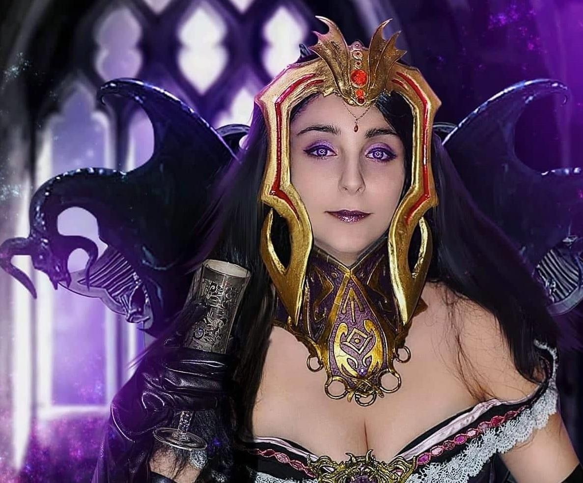 Liliana Vess del celebre gioco di carte Magic