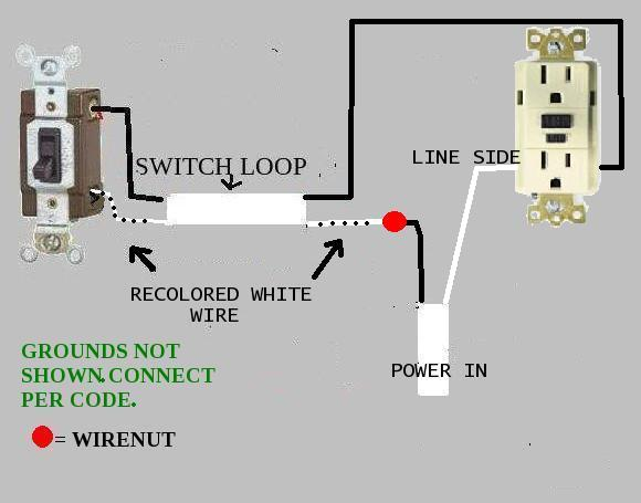 Wiring A Disposal Outlet With Switch