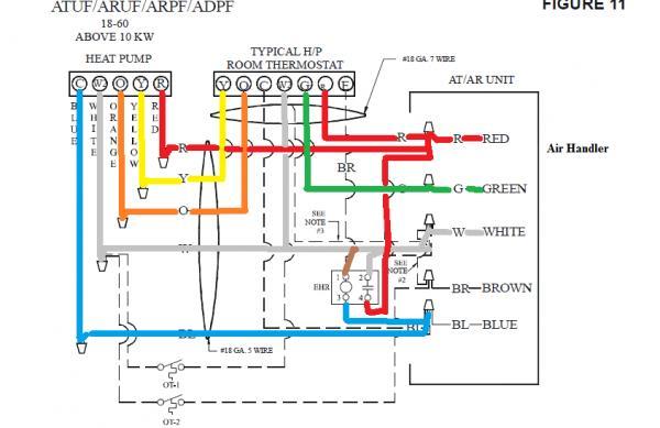 Wiring Honeywell 7500 Thermostat