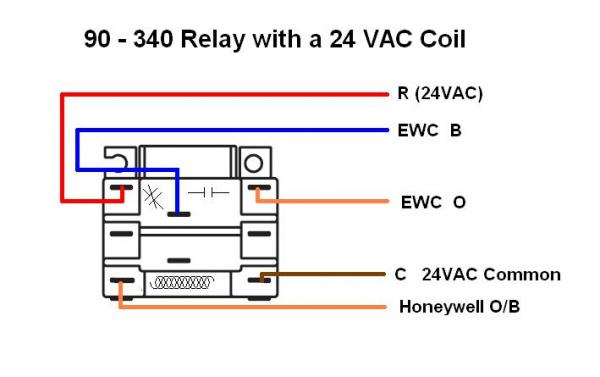 Honeywell Wifi Thermostat, I Have Two Changeover Valve