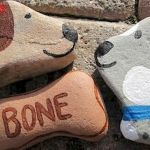 40 Favorite DIY Painted Rocks Animals Dogs for Summer Ideas (23)
