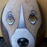 40 Favorite DIY Painted Rocks Animals Dogs for Summer Ideas (25)