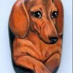 40 Favorite DIY Painted Rocks Animals Dogs for Summer Ideas (34)