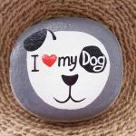 40 Favorite DIY Painted Rocks Animals Dogs for Summer Ideas (38)