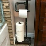 45 DIY Toilet Paper Holder and Storage Ideas (16)
