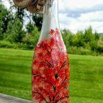 76 Best DIY Wine Bottle Craft Ideas (46)