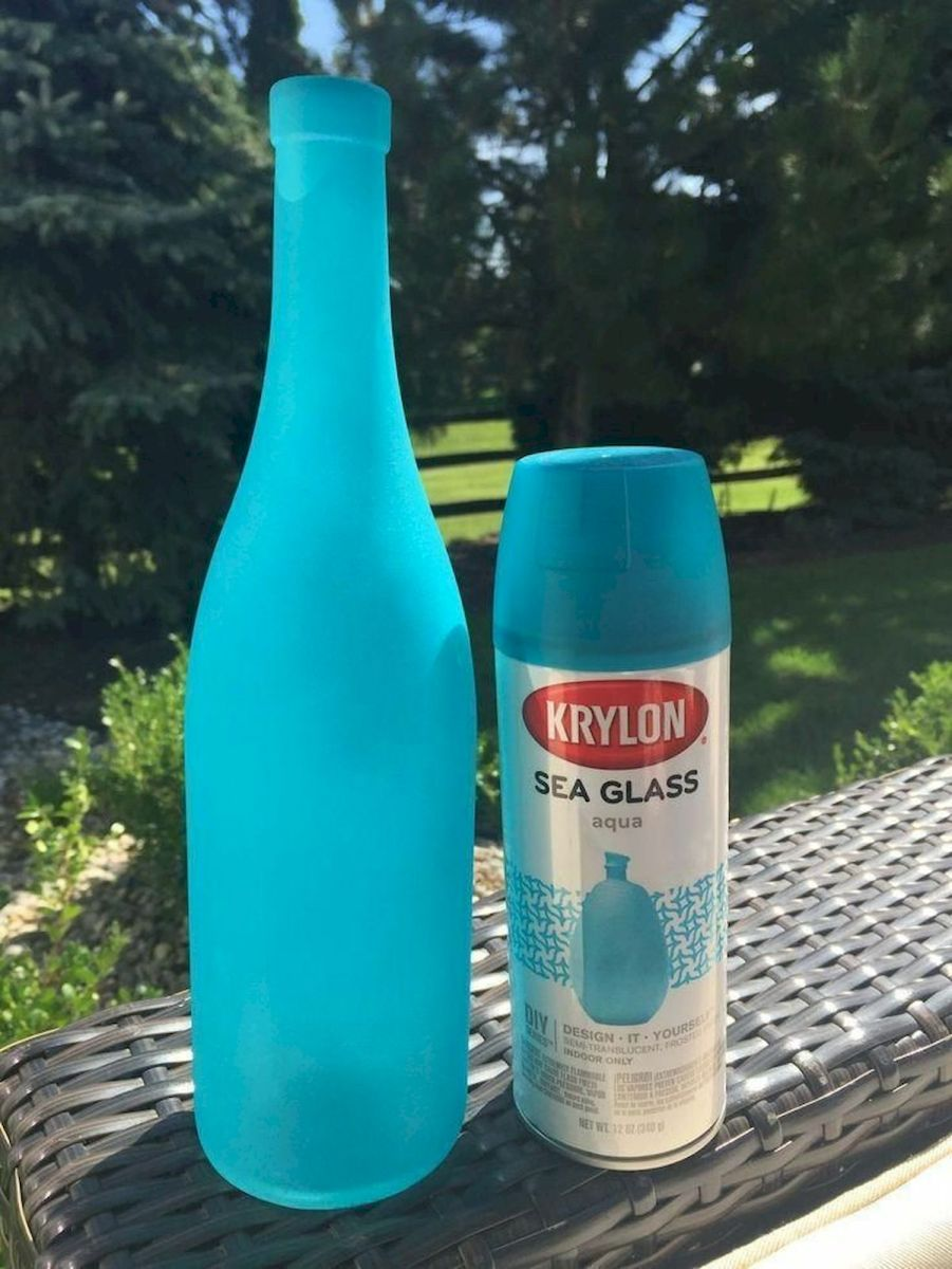 76 Best DIY Wine Bottle Craft Ideas (66)