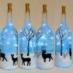 76 Best DIY Wine Bottle Craft Ideas (67)