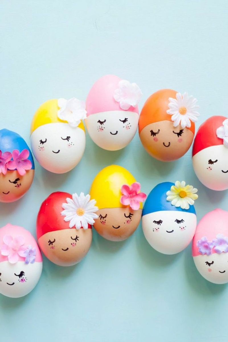 90 Awesome DIY Easter Eggs Ideas (34)