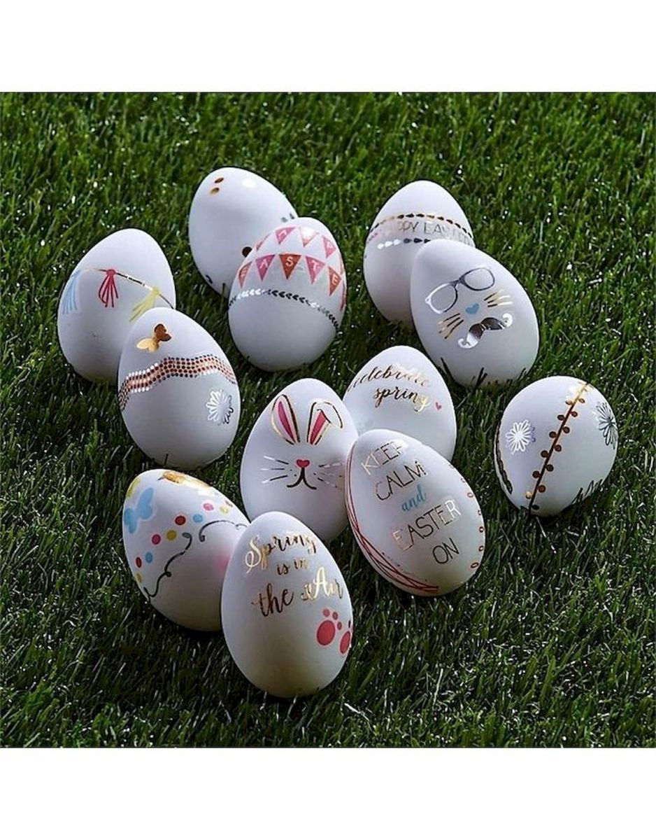 90 Awesome DIY Easter Eggs Ideas (80)