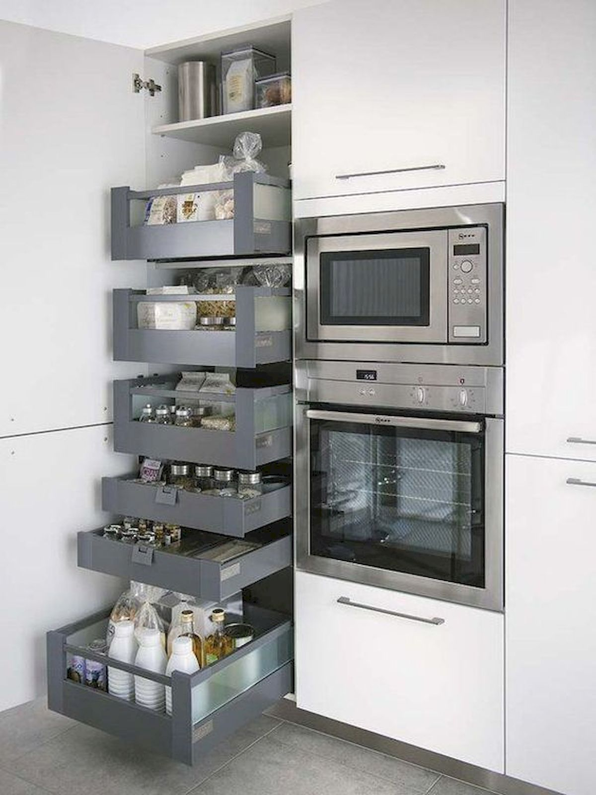30 Awesome DIY Kitchen Cabinets Ideas (15)